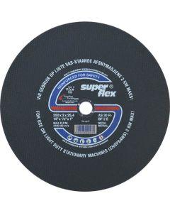 SUPERFLEX CUT OFF WHEEL FOR STEEL 350X3X25.4MM T41