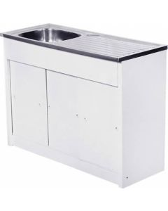 CAM AFRICA KD1200/1 KITCHEN UNIT+SINK 1200X460MM