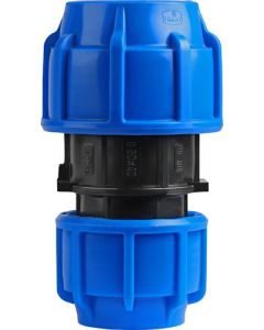 HDPE COMPRESSION COUPLING 50X40MM