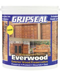 GRIPSEAL EVERWOOD WATER BASED OIL CLEAR 1L