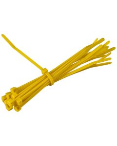 CABLE TIES YELLOW 100X2.5MM 100 PACK