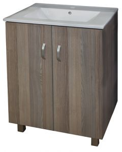 DENVER DA1-811-18144  MARLENE COIMBRA & BASIN BATHROOM CABINET 600MM