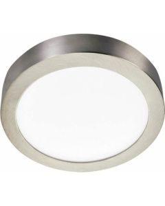 BRIGH STAR CF546 24W LED CEILING LIGHT SATIN CHROME LARGE