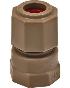 UNITWIST UT2002R COUPLER STR CXFI RED 15MMX3/4INCH