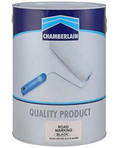 CHAMBERLAIN ROAD MARKING PAINT BLACK 5L