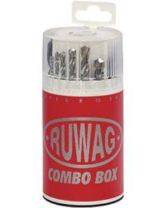 RUWAG 18-PIECE COMBO DRILL BIT SET