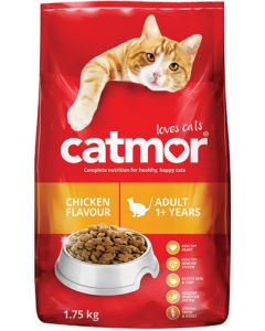 CATMOR ADULT 1+ YEARS CHICKEN FLAVOUR 1.75KG