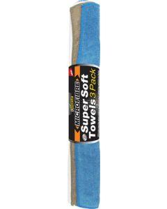 SHIELD SH293 3 PACK MICROFIBRE TOWEL