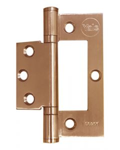 YALE YDYFH103PVD STAINLESS STEEL BRASS FLASH HINGE