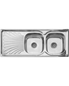 CAM AFRICA DC1250L/DEB DROP-IN 1200X500MM SINK