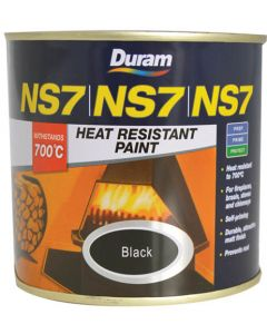 DURAM HEAT RESISTANT BLACK NS7 500ML