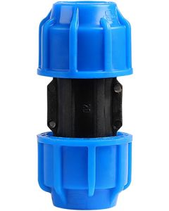 MARLEY #510.200 HDPE COMPRESSION STRAIGHT COUPLING 20MM