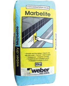WEBER 17131 POOL PLASTER MARBELITE 20KG WHITE