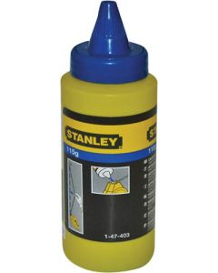 STANLEY CHALK LINE POWDER BLUE 115g