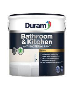 DURAM KITCHEN & BATHROOM ENAMEL WHITE 2.5L