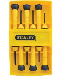 STANLEY SCREWDRIVER SET 6 PIECE