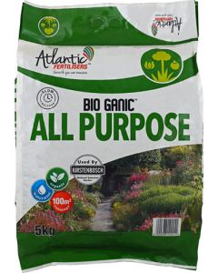 ATLANTIC FERTILIZERS BIO GANIC ALL PURPOSE 5KG