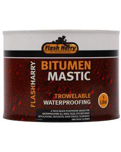 FLASH HARRY WATERPROOFING BITUMEN MASTIC 1L