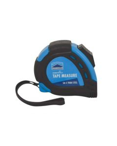 CHAMBERVALUE MEASURING TAPE BLUE RUBBER CASE 5m