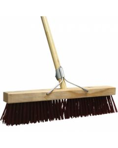 ACADEMY HARD BROOM 460MM