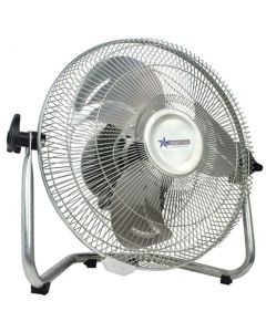 BRIGHT STAR FAN010 300MM CHROME FLOOR FAN