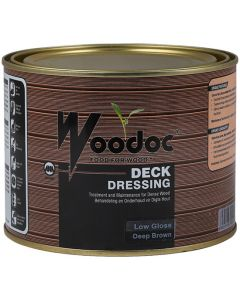 WOODOC DECK DRESSING DEEP BROWN 1L