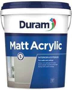 DURAM MATT ACRYLIC 20L