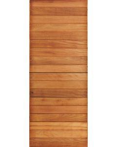 HORIZONTAL NARROW SLATTED EXTERIOR STABLE DOOR 813X2032