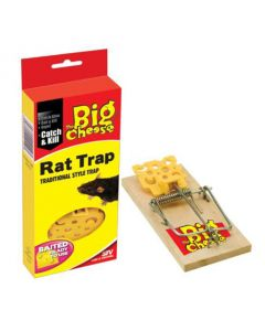 BIG CHEESE STV110 TRADITIONAL STYLE RAT TRAP