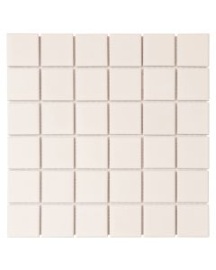 FALCON P3-FT2200S GLAZED MOSAIC TILE SHINY WHITE 48MM