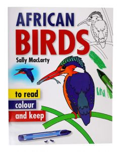AFRICAN BIRDS TO READ COLOUR AND KEEP