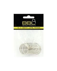 BBL  BBRKR32PP 10X32MM WIRE RINGS