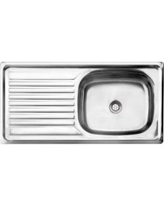 CAM AFRICA DC915/1 DROP-IN 915X460MM SINK