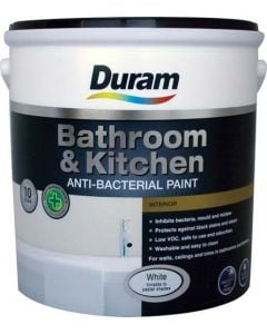 DURAM KITCHEN & BATHROOM ENAMEL WHITE 2.5L