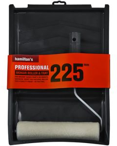 HAMILTON'S PROFESSIONAL MOHAIR ROLLER&TRAY SET 225MM