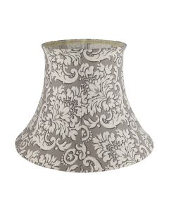 EMPIRE S154C017 LARGE FLORAL LIGHT BROWN DAMASK LAMP SHADE
