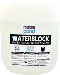 MEGABOND WATERBLOCK CLEAR SILICONE LIQUID 20L