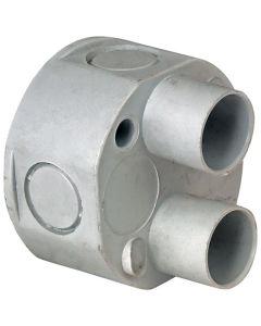 2 Way PVC Spout Box 20mm