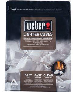 WEBER 17670 FIRELIGHTER CUBES