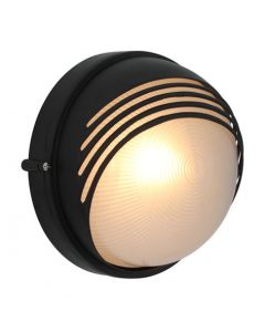 EUROLUX B46B LARGE ROUND MOON BULKHEAD WITH EYELID BLACK