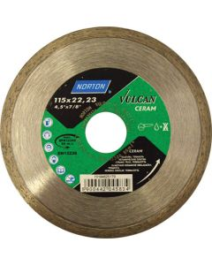 NORTON VULCAN DIAMOND TILE BLADE 115MM