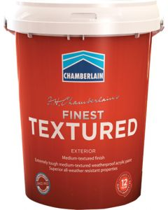 CHAMBER ACRYLIC FINEST TEXTURED WHITE 20L