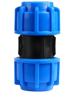 MARLEY #510.320 HDPE COMPRESSION STRAIGHT COUPLING 32MM