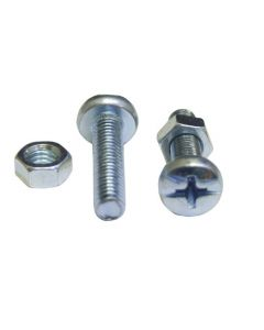 EUREKA CHEESE HEAD MACHINE SCREW AND NUT