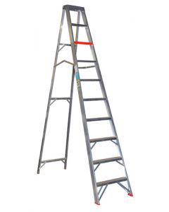 CASTER&LADDER DAS10/G10 COMMERCIAL STEP LADDER 3.0M