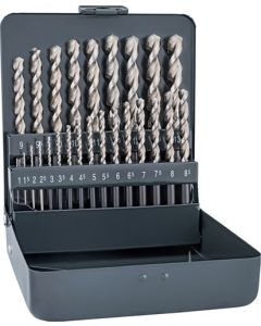 ALPEN ALPKM19SUPER HSS SUPER DRILL BIT SET 19 PIECE