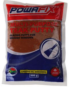 POWAFIX MULTI-PURPOSE TEAK PUTTY 500G