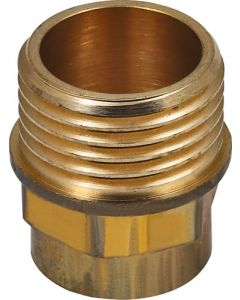 SPLASHWORKS BG4243G/A/1 COPPER STRAIGHT COUPLER CXMI 15MM