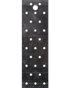 August 071044000 Perforated Plate 60 x 200 x 2mm