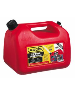ADDIS 7427RD JERRY CAN 10 LITRE FUEL RED PLASTIC